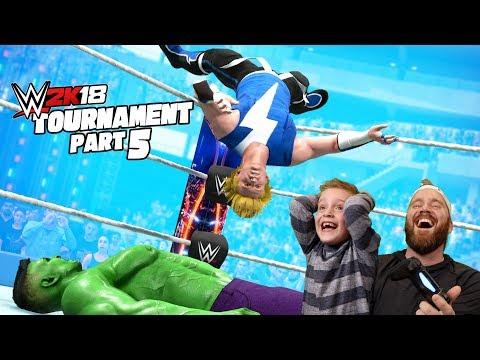 Little Flash vs Marvel's Hulk! 2k18 Game Tournament Pt #5 |