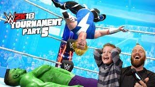 Little Flash vs Marvel's Hulk! 2k18 Game Tournament Pt #5