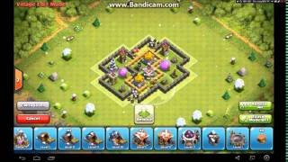 Clash of Clans - Town Hall 5 - Farming Base - Well protected storage's + Speed Build