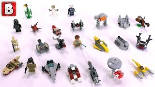 Star Wars LEGO Advent Calendar 2018 Full Review and Spoilers