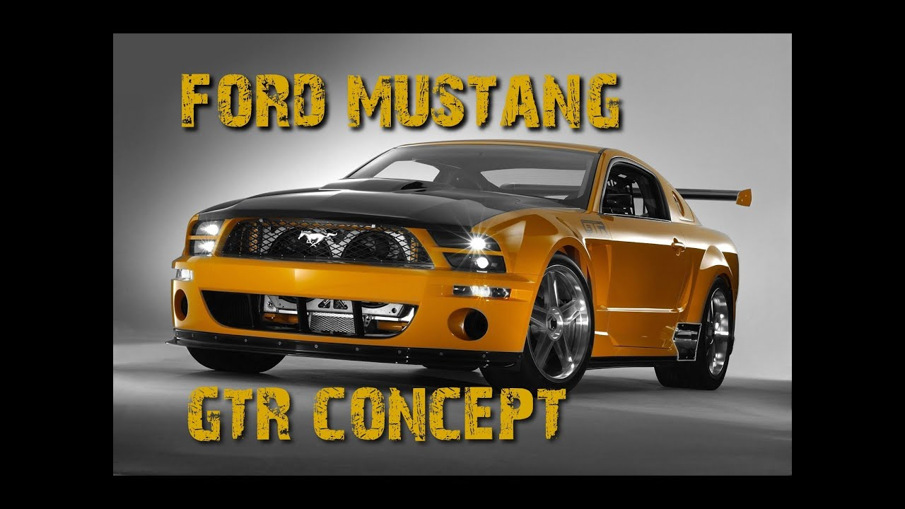 Ford Mustang Gtr Unlimited Concept Test Drive