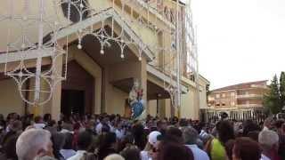 Uscita della Vergine di Porto Salvo dalla Chiesa parrocchiale