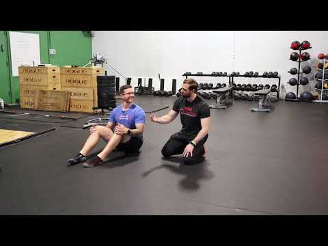 How To Perform The Seated Straddle Leg Lift