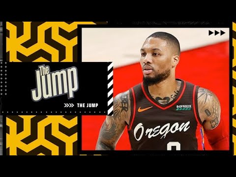 Reacting to Damian Lillard saying trade request rumors are 'not true' | The Jump