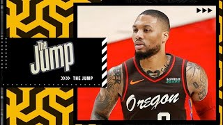 Reacting to Damian Lillard saying trade request rumors are 'not true'