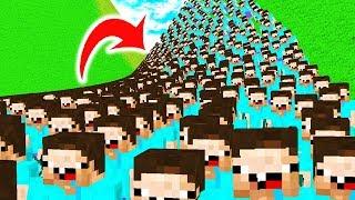 9.000.000 NOOBS vs. ERDBEBEN - Minecraft TROLLING