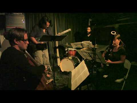 Chris Hoffman, Sara Schoenbeck, Stomu Takeishi, Brian Chase - At Sycamore, Brooklyn - Sept 10 2012