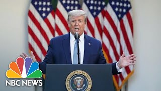 Live: Trump Meets With Governors Of Colorado And North Dakota   NBC News