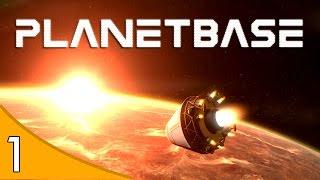 Planetbase - COLONIZANDO O PLANETA MARTE! #1 ( GAMEPLAY / PC / PTBR PORTUGUÊS ) HD