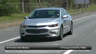 2018 Chevrolet Malibu Test Drive