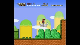 Super Mario World Hack - Super Mario Bros 3 X - Part 10: World 7 From Level 1 to Ghost House