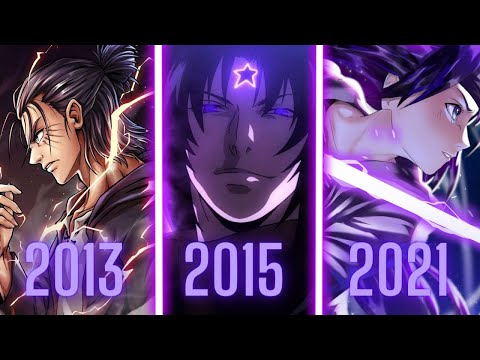 Best ACTION ANIME of Each Year [2011-2021]