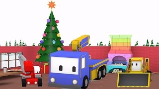 Christmas Preparation- Learn with Tiny Trucks...