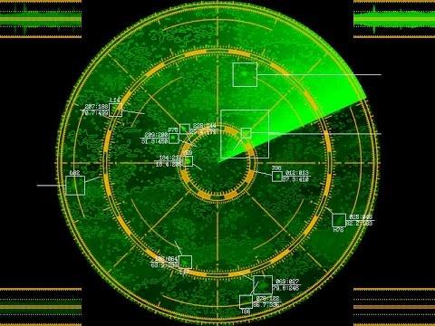 SDR - RADAR (varying pulse) 8,785 Khz