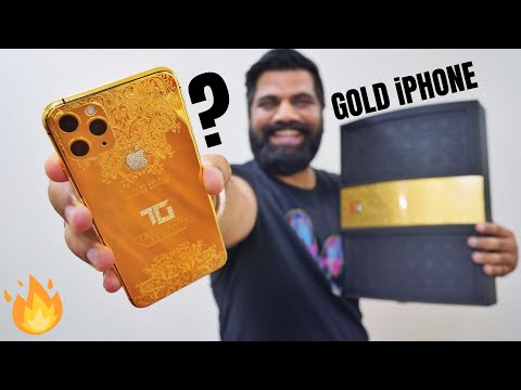 My Most Expensive Gold IPhone 11 Pro Max For You!!! 🔥🔥🔥