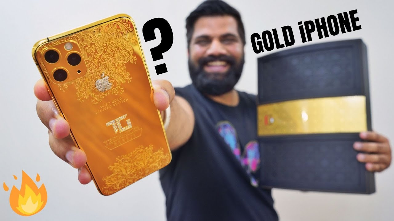 My Most Expensive Gold iPhone 11 Pro Max For You!!!