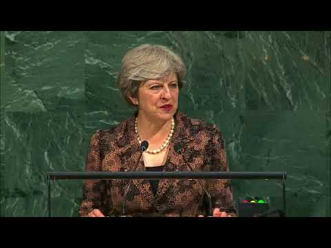Theresa May: Speech to the UN General Assembly 2017