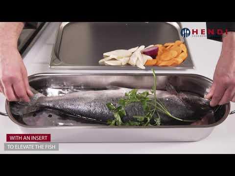HENDI Fish Poacher 60cm 836057
