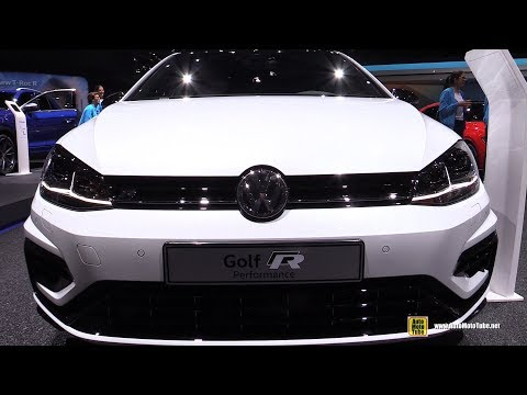 2019 Volkswagen Golf R Performance - Exterior and Interior Walkaround - 2019 Geneva Motor Show