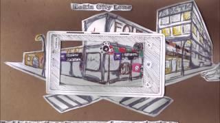 Papercut stop motion - Nokia Lumia Ad By Gaby #SaatnyaberalihkeNokiaLumia