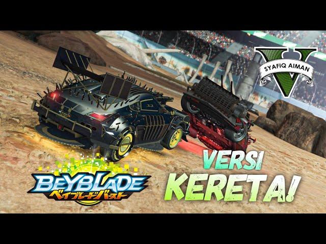 BEYBLADE VERSI KERETA! GTA 5 Online (Bahasa Malaysia)