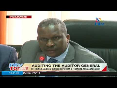 Auditing the auditor general