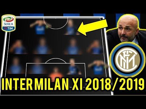 Inter Milan Possible Line Up XI 2018/2019 Ft Malcom, Icardi, De Vrij