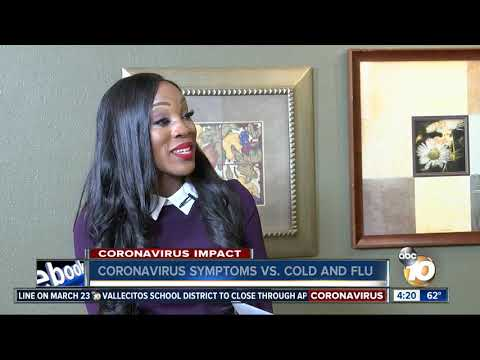 Coronavirus Symptoms Vs. Cold And Flu