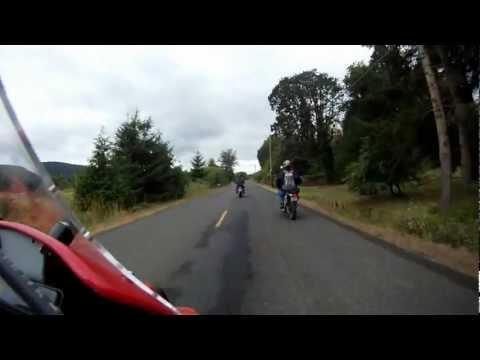 I Ride My XR650L Dual Sport to Satsop WA.