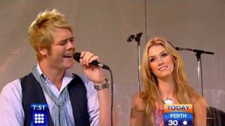 Delta Goodrem and Brian McFadden - In This Life - Acoustic Version