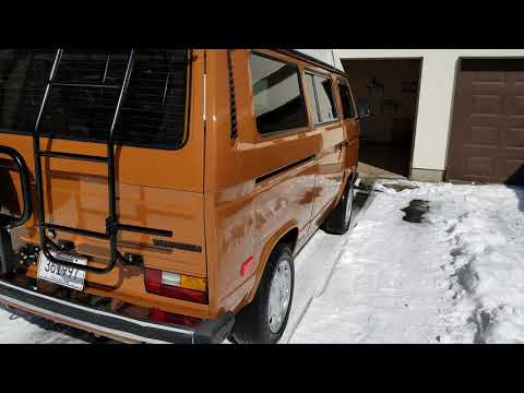Фото к видео: 1984 VW Vanagon Westfalia Camper Westy mods