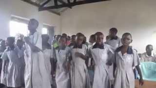 Welcome Song by Ugandan School Children