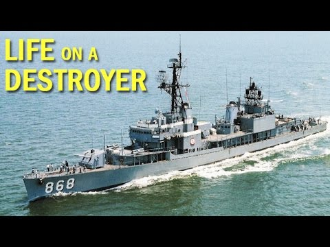 Life Aboard a U.S. Navy Destroyer | Documentary Short | 1970