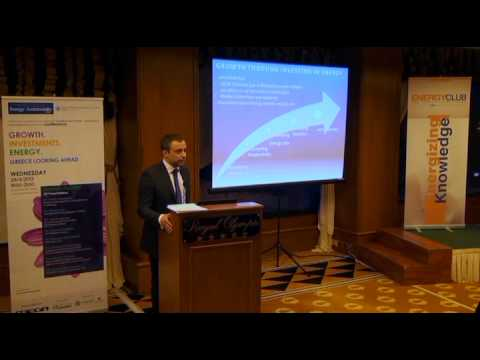 Greece Looking Ahead Conference | Energy & Sustainability Club | Yiannis Kalafatas