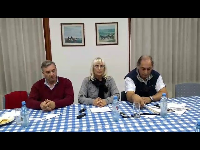 Sociedad Rural: agasajo al periodismo y breve conferencia de prensa.