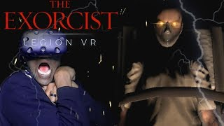 YOU WANT ME TO DO WHAT...AN EXORCISM?   The Exorcist: Legion VR (Chapter 2 Idle Hands) HTC Vive