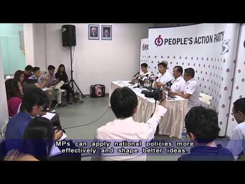 Edwin Tong joins PAP's Marine Parade GRC team   26Aug2015