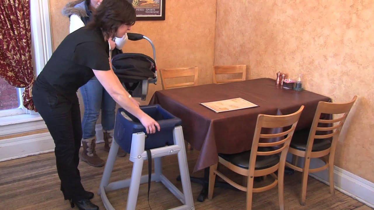 high chair restaurant sex position kidsitter multi use plastic youtube