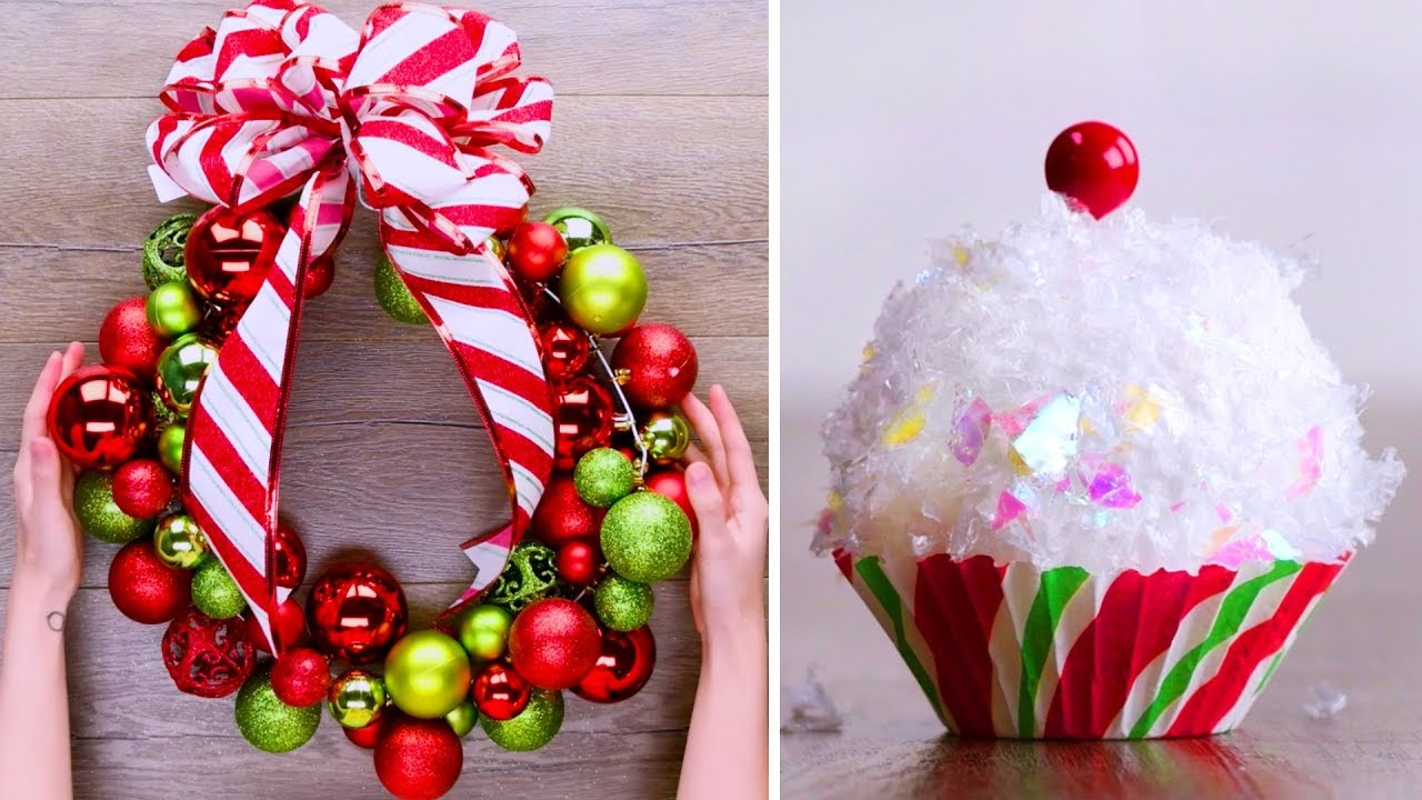 Last Minute Christmas Decoration Ideas Diy Ideas Without Going