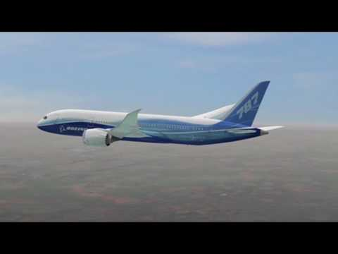 FlightBlogger - Boeing 787 Dreamliner Animation