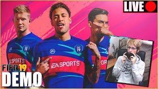 🔴 ¡PROBANDO LA DEMO DE FIFA 19! 🔴 +Plantillas para comenzar FUT!