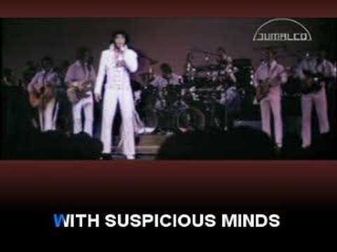 Karaoke.- Elvis Presley - Suspicious Minds