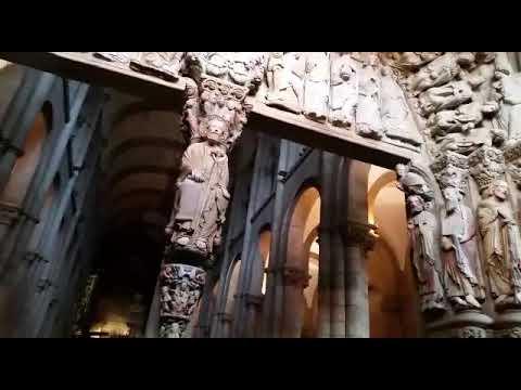 El Pórtico de la Gloria recibe sus primeras visitas tras diez años de restauración