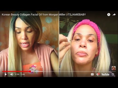 Korean Beauty Collagen Facial Oil from Morgan Miller | ITSJAMIEBABY