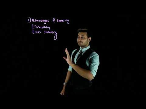 Advantages of Leasing/CS Professional FTFM Video Lectures