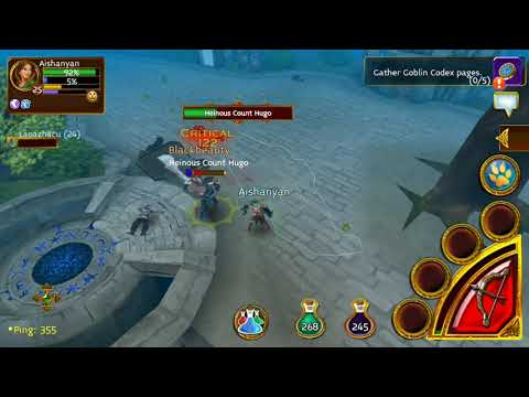 ARCANE LEGENDS GAMEPLAY PART 3.1 - Daily Quest Wandering Minstrel: King Dude Ditty