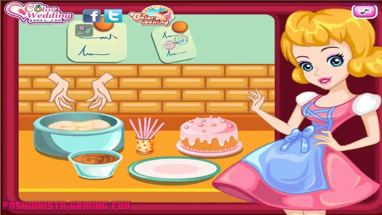 Cake Pops Maker- Fun Online Cooking Baking Games for Girls ...
