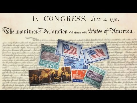 Declaration of Independence(4th July,1776)- United States of America|Mintage World's Rusted Post Box
