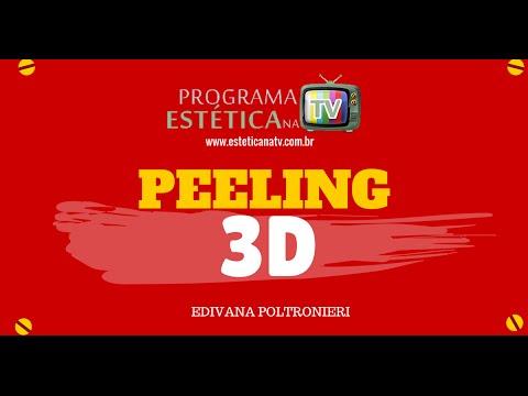 PEELING 3D - TRATAMENTO PARA MANCHAS, ESTRIAS E ACNE