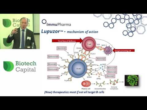 Immupharma Chairman presents to investors at the Biotech Capital Conference